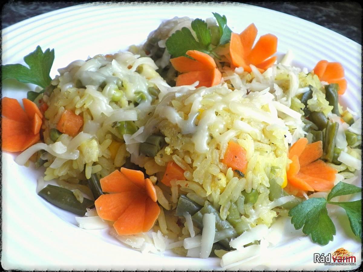 Pečene zeleninové rizoto