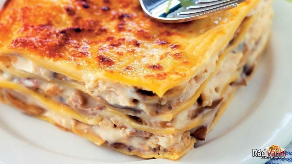 Lasagne s mäsom