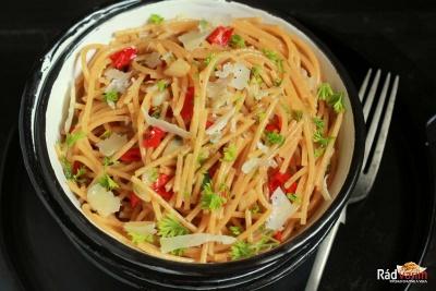 Špagety po španielsky