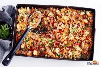Zapekaná ryža
