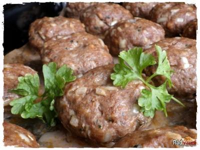 Karbonátky / Fašírky pečené v rúre