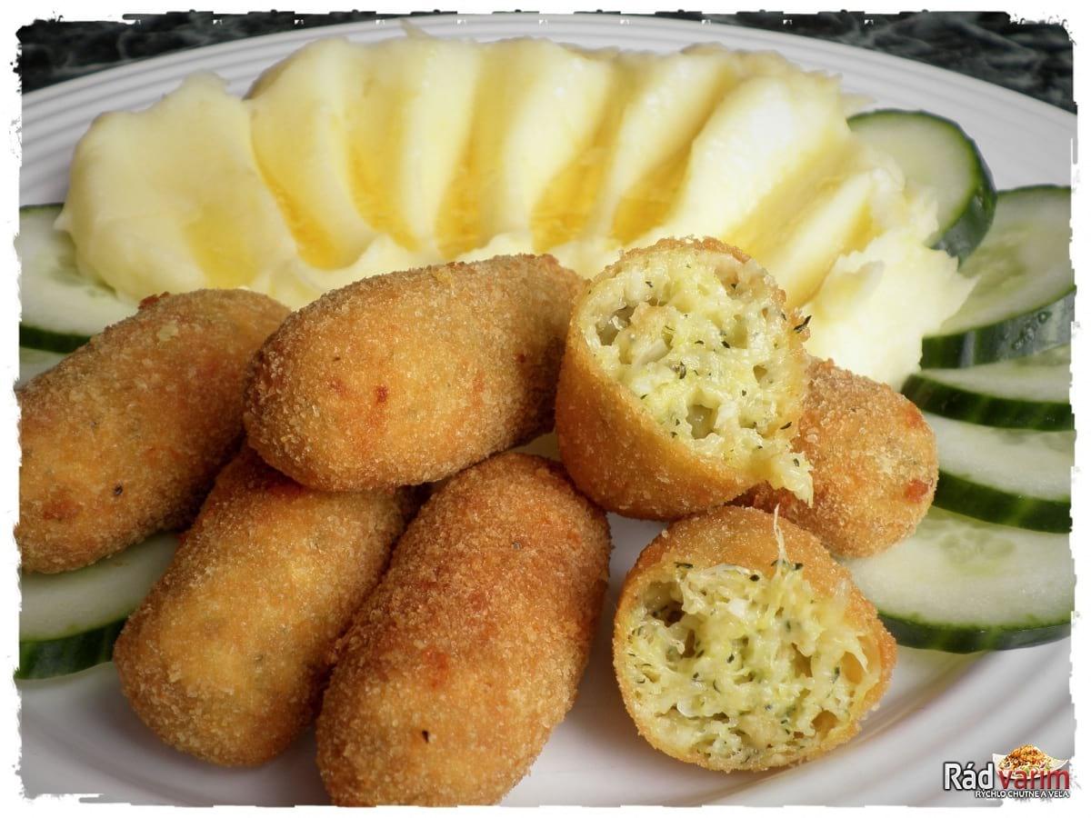 Cuketové krokety so zemiakovou kašou