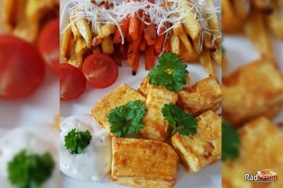 Tofu syr s pečenou zeleninou