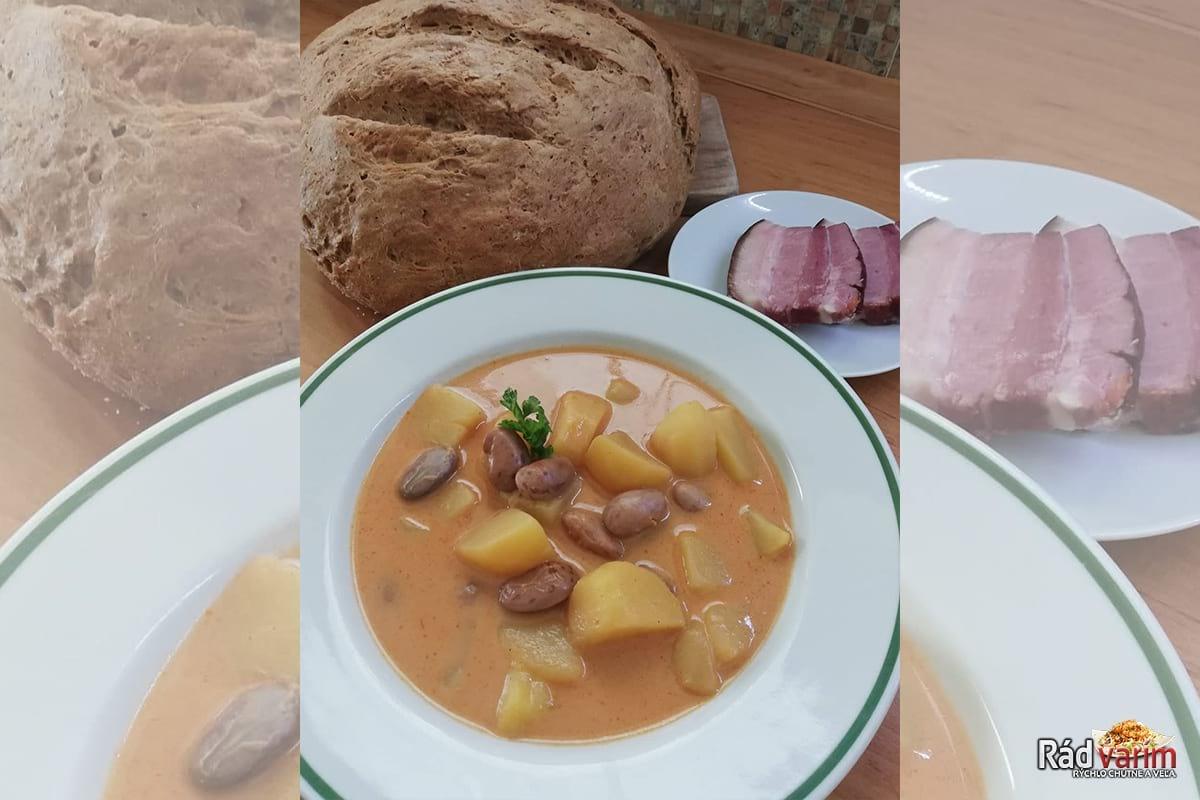 Fazuľová polievka podľa receptu starej mamy