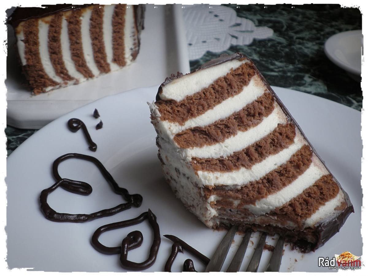 Nepečený BEBE koláč z kyslej smotany