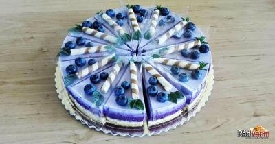 Najlepší čučoriedkový cheesecake ako super dezert