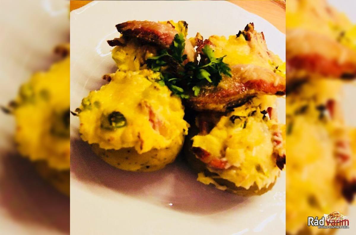 Plnené gazdovské zemiaky