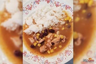 Kuracie mexické soté s ryžou