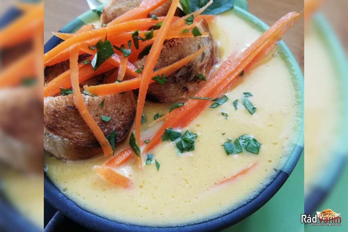 Výborná krémová Mrkvová polievka