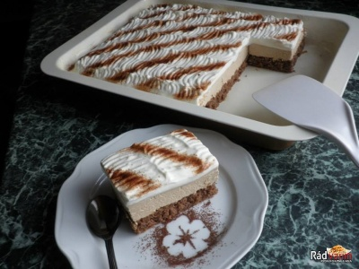 Kávové rezy - CAFFE REZY koláč