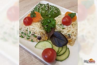 Zdravé zeleninové rizoto
