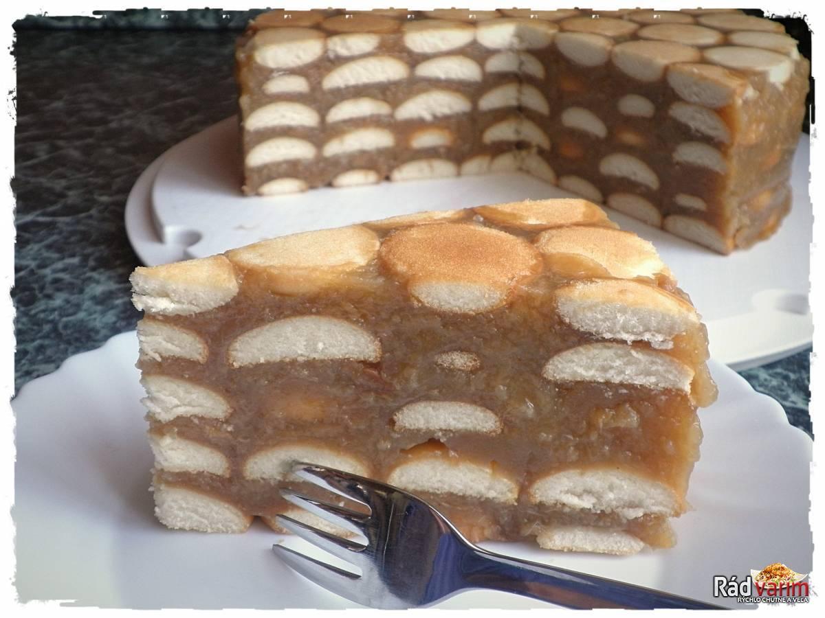Jablková torta - nepečená