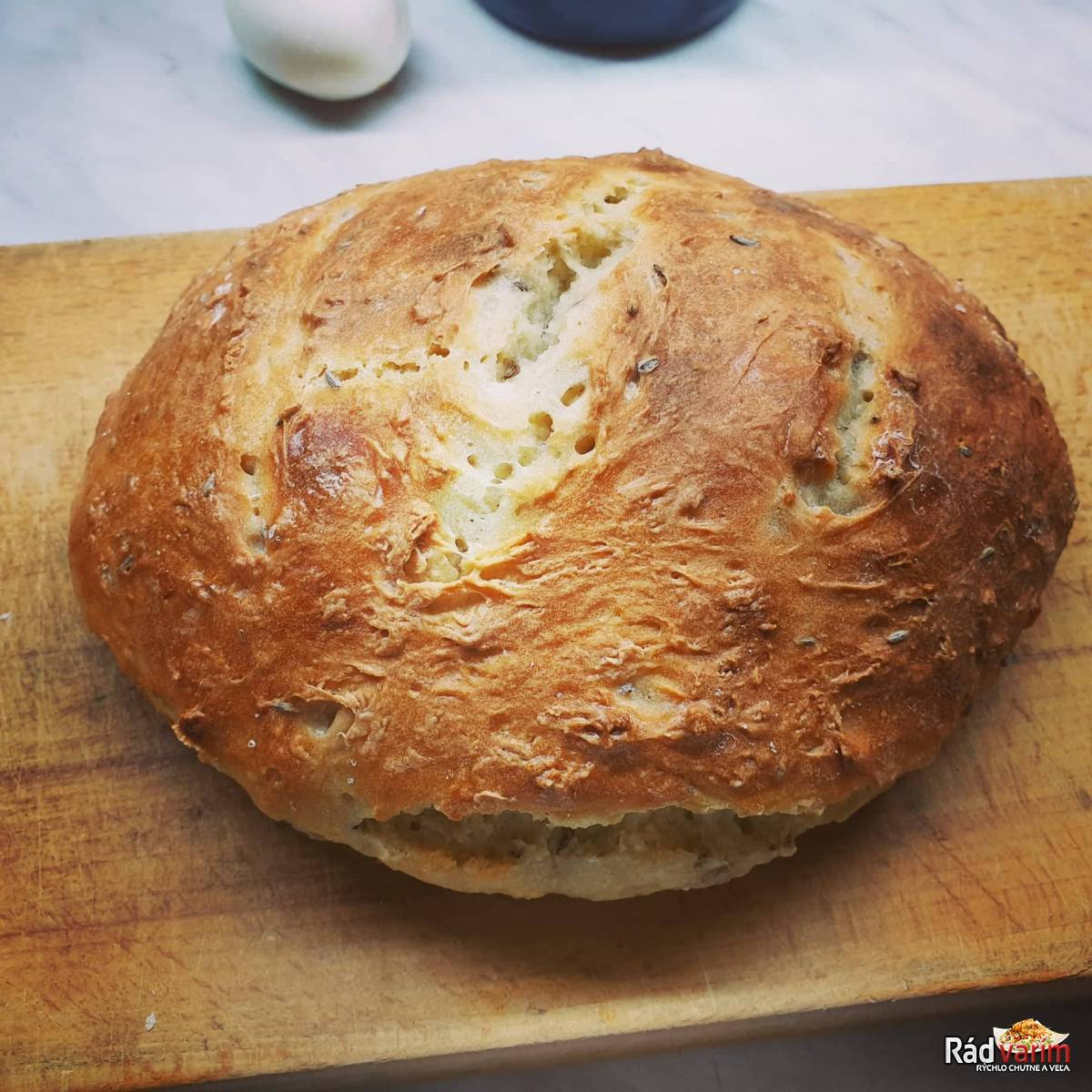 Domáci chlebík bez kysnutia