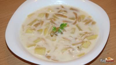 Struková mliečna polievka