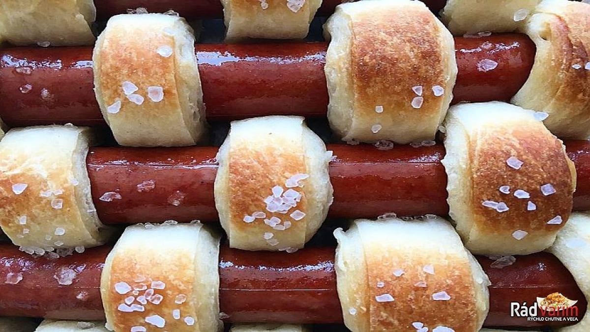 Domáce hot - dogy