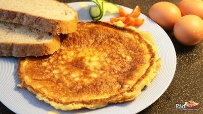 Skvelý vajíčkový pampúch ako výdatné raňajky