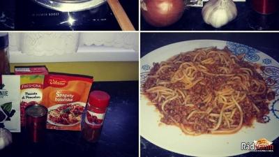 Bolonské špagety alá MIMI