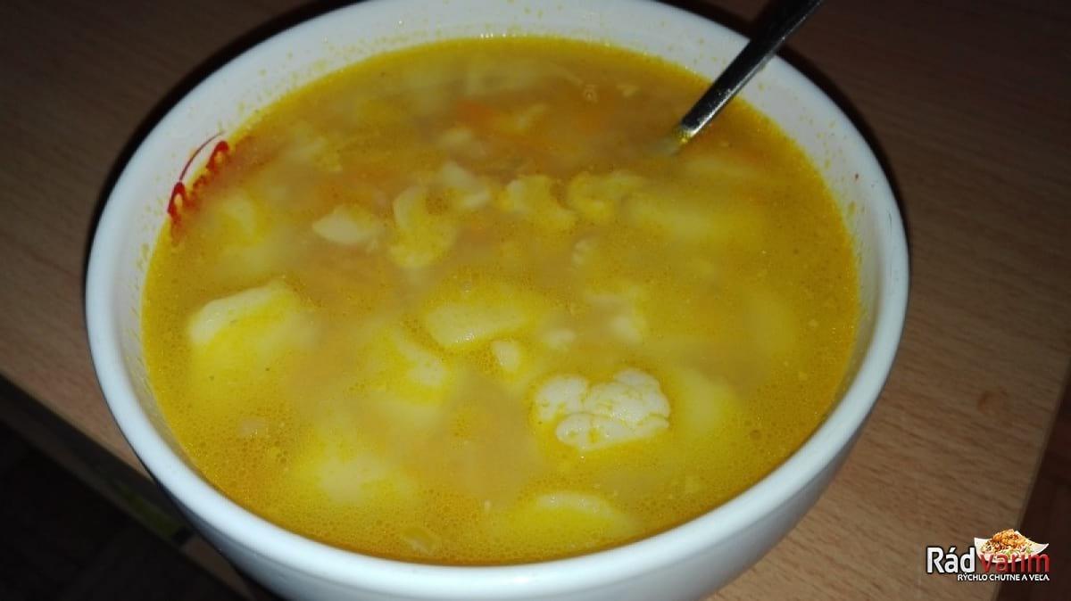 Výborná Karfiolová polievka